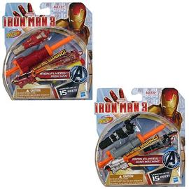 Iron Man - 3 Iron Flyers Launching Action Figures Wave 1 Set