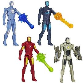 Iron Man - 3 Movie All-Stars Action Figures Wave 1 Set