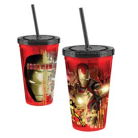 Iron Man - 3 Movie 18 oz. Acrylic Travel Cup