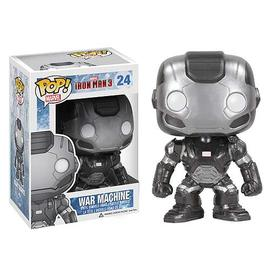 Iron Man - 3 Movie War Machine Pop! Vinyl Bobble Head