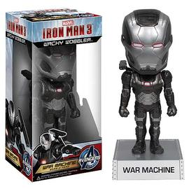 Iron Man - 3 Movie War Machine 7-Inch Bobble Head