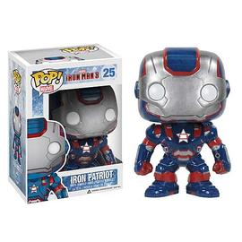 Iron Man - 3 Movie Iron Patriot Pop! Vinyl Bobble Head