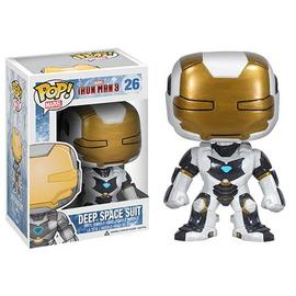 Iron Man - 3 Movie Deep Space Pop! Vinyl Bobble Head