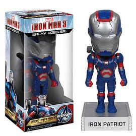 Iron Man - 3 Movie Iron Patriot 7-Inch Bobble Head