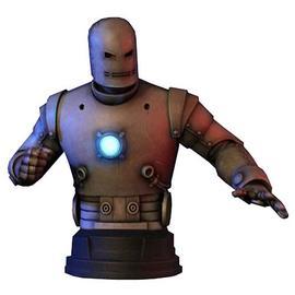 Iron Man - Classic Silver Mini Bust
