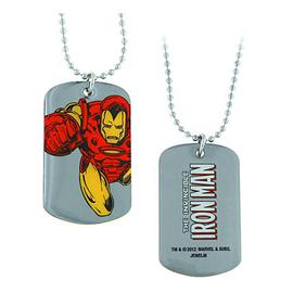 Iron Man - Flying Dog Tag Necklace
