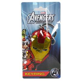 Iron Man - Face Colored Pewter Key Chain
