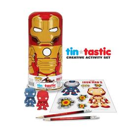 Iron Man - 3 Movie Mark 42 Can-Tivities Pencil Set with Tin