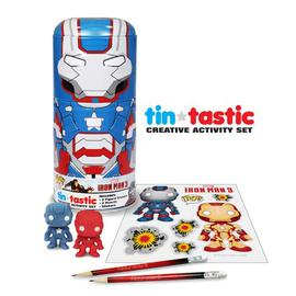 Iron Man - 3 Movie Iron Patriot Can-Tivities Pencil Set w/ Tin