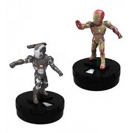 Iron Man - 3 Movie Marvel HeroClix TabApp Elite 2-Pack