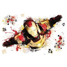 Iron Man - 3 Graphic Giant Peel and Stick Wall Decal