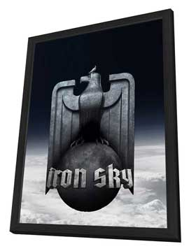 Iron Sky - 27 x 40 Movie Poster - Finnish Style A - in Deluxe Wood Frame