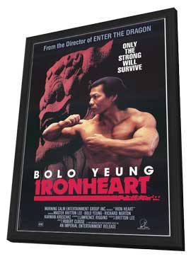 Ironheart - 27 x 40 Movie Poster - Style A - in Deluxe Wood Frame
