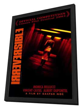 Irreversible - 27 x 40 Movie Poster - Style B - in Deluxe Wood Frame