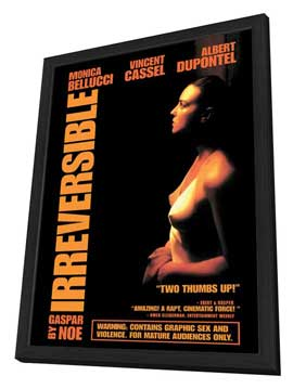 Irreversible - 27 x 40 Movie Poster - Style A - in Deluxe Wood Frame