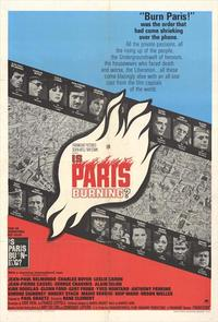 Is Paris Burning? - 11 x 17 Movie Poster - Style B
