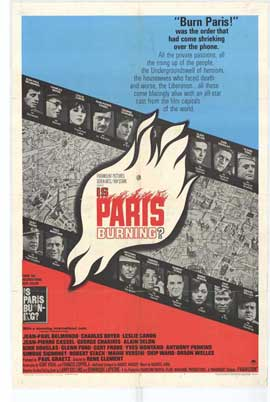Is Paris Burning? - 27 x 40 Movie Poster - Style A