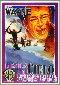 Island in the Sky - 11 x 17 Movie Poster - Italian Style A