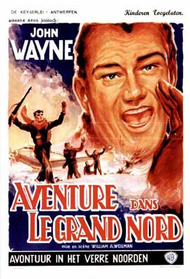 Island in the Sky - 11 x 17 Movie Poster - French Style A