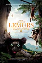 Island of Lemurs: Madagascar IMAX 3D - 11 x 17 Movie Poster - Style A
