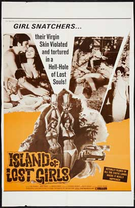 Island of Lost Girls - 11 x 17 Movie Poster - Style A