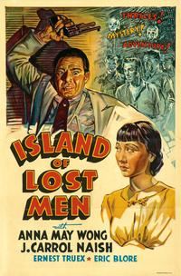 Island of Lost Men - 27 x 40 Movie Poster - Style A