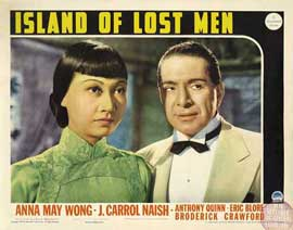 Island of Lost Men - 11 x 14 Movie Poster - Style B