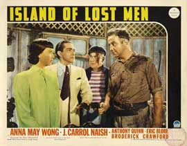 Island of Lost Men - 11 x 14 Movie Poster - Style D