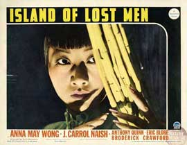 Island of Lost Men - 11 x 14 Movie Poster - Style F