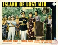 Island of Lost Men - 11 x 14 Movie Poster - Style I