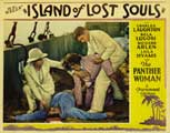 Island of Lost Souls - 11 x 14 Movie Poster - Style B