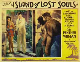 Island of Lost Souls - 11 x 14 Movie Poster - Style F