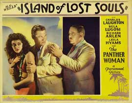 Island of Lost Souls - 11 x 14 Movie Poster - Style G