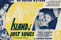 Island of Lost Souls - 11 x 14 Movie Poster - Style I