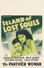 Island of Lost Souls - 11 x 17 Movie Poster - Style B