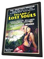 Island of Lost Souls - 11 x 17 Movie Poster - Style A - in Deluxe Wood Frame