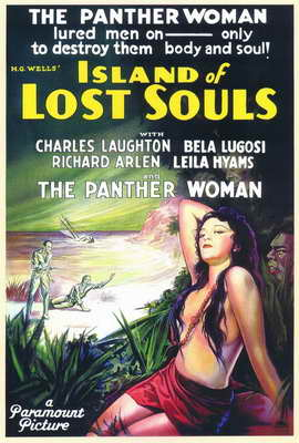 Island of Lost Souls - 11 x 17 Movie Poster - Style A