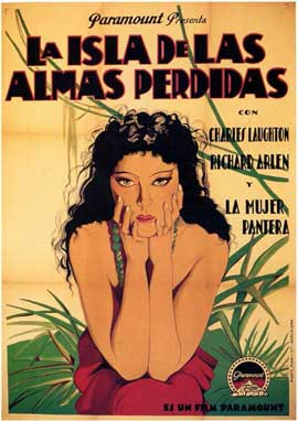 Island of Lost Souls - 11 x 17 Movie Poster - Spanish Style A