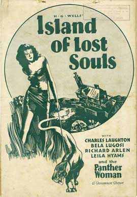 Island of Lost Souls - 27 x 40 Movie Poster - Style B