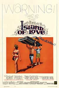 Island of Love - 43 x 62 Movie Poster - Bus Shelter Style A