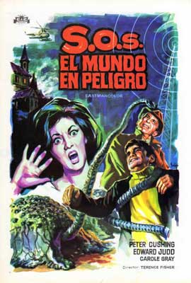 Island of Terror - 27 x 40 Movie Poster - Spanish Style A
