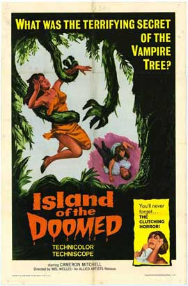 Island of the Doomed - 27 x 40 Movie Poster - Style A
