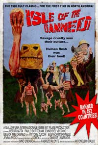 Isle of the Damned - 11 x 17 Movie Poster - Style A