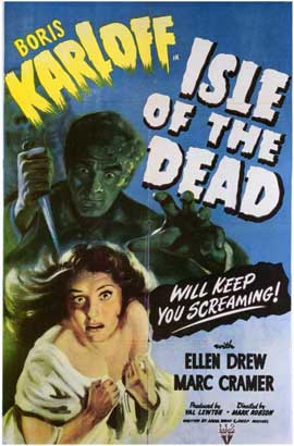 Isle of the Dead - 11 x 17 Movie Poster - Style A