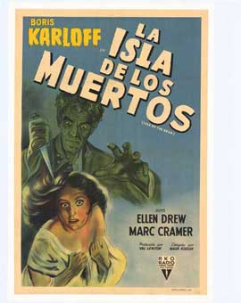 Isle of the Dead - 11 x 17 Movie Poster - Spanish Style A