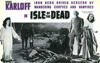 Isle of the Dead - 11 x 14 Movie Poster - Style A