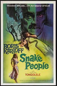 Isle of the Snake People - 27 x 40 Movie Poster - Style A