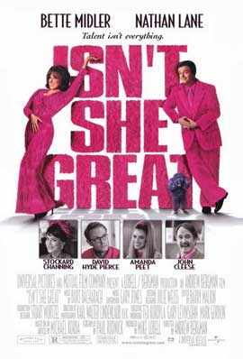 Isn't She Great - 11 x 17 Movie Poster - Style A