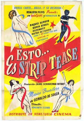 Isto e Streap-Tease - 27 x 40 Movie Poster - Foreign - Style A