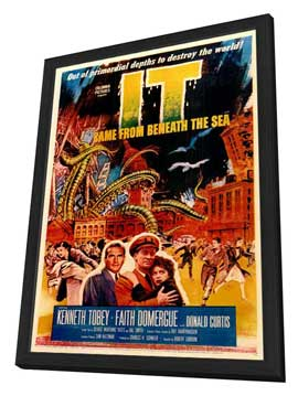 It Came from Beneath the Sea - 11 x 17 Movie Poster - Style A - in Deluxe Wood Frame
